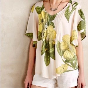 Anthropologie's Maeve Floral Top!